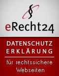 eRecht24-Siegel-Datenschutz
