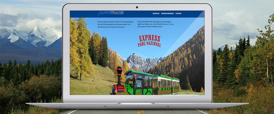 Alpintrans Schweiz – Express Parc Naziunel