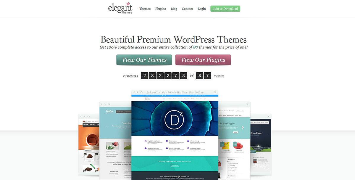 Elegant Themes - WP Themes