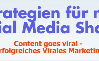 6 Strategien für mehr Social Media Shares – Infografik