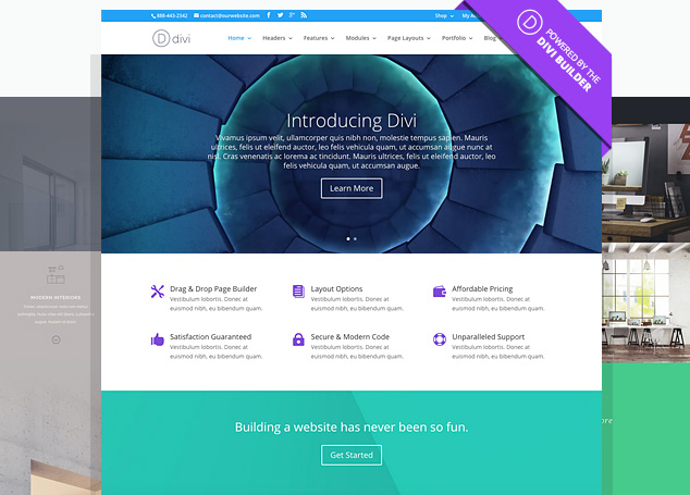 WordPress Theme Divi Expertin
