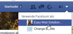 Facebook-Businesspage-aufrufen