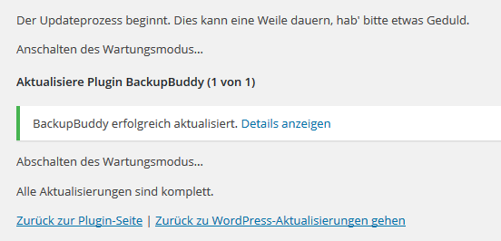 WordPress-Update-Prozess-Plugins