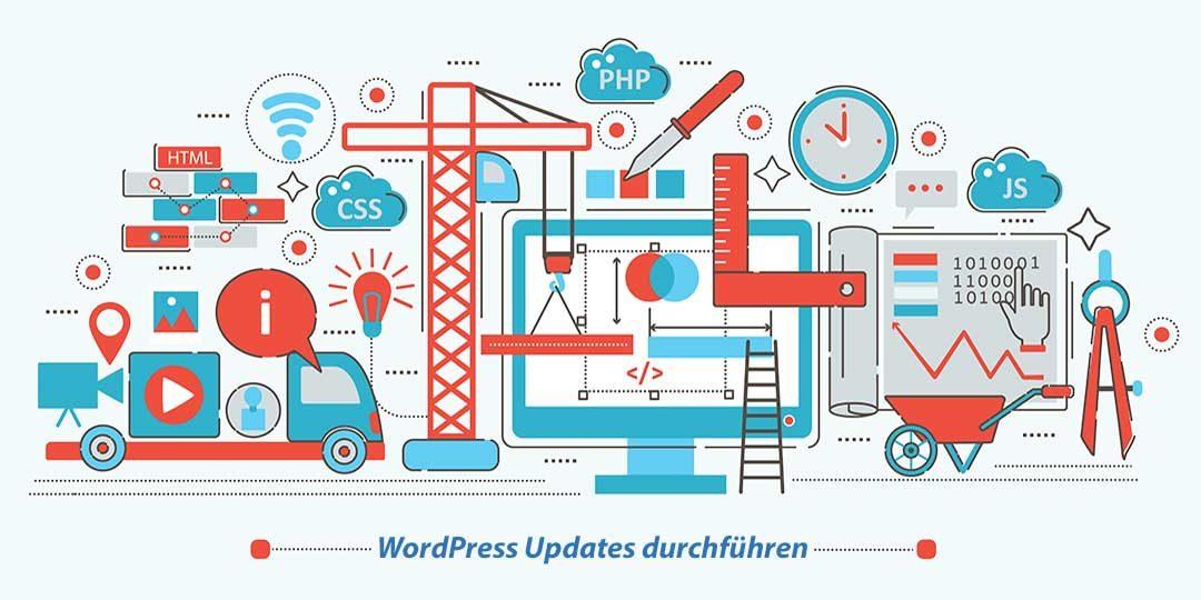 WordPress Updates durchführen