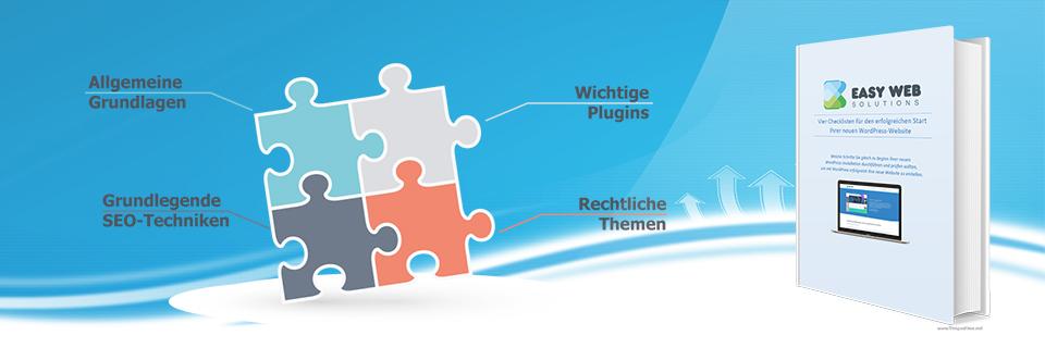 Vier Checklisten für den erfolgreichen Start Ihrer neuen WordPress-Website