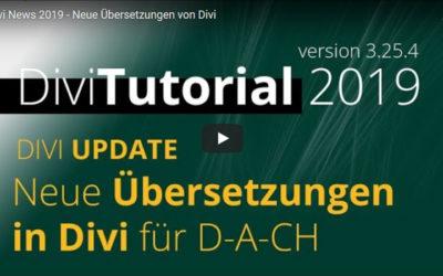 Divi Hack: Neue Übersetzungen von Divi